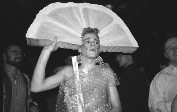 Image taken at Flikkers Halloween Ball indicates the ways queers could express their gender.
