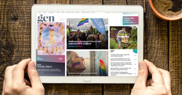 GCN is hiring: Image of the GCN homepage displayed on an iPad