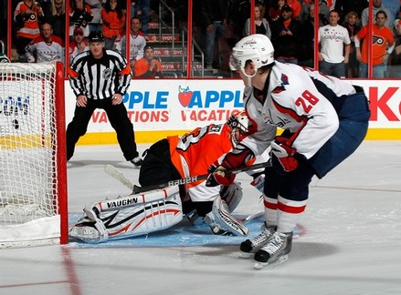 Goaltending Costs Flyers 5-4 Loss Against Capitals