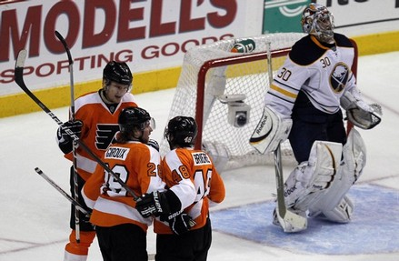 Dominant Effort Lifts Flyers Past Sabres to Round Two