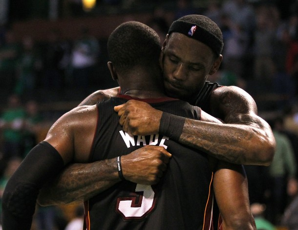James, Wade And Bosh Push Celtics To The Edge With 98-90 Overtime Win
