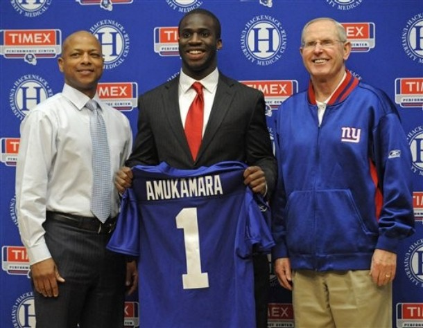 Grading The NFC East In The 2011 Draft
