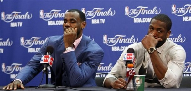 This Was A Classic Choke Job For LeBron James And The Heat
