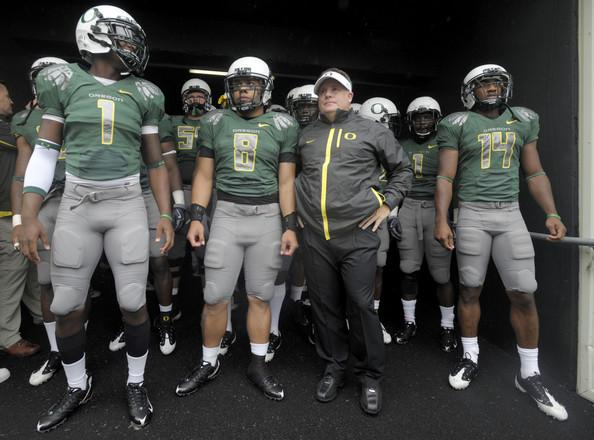 College Football's First Week:  Oregon vs. LSU Matchup & My Six Picks