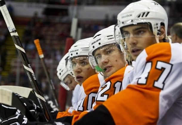 Wellwood, Holmstrom Among Flyers Latest Roster Cuts [Updated]