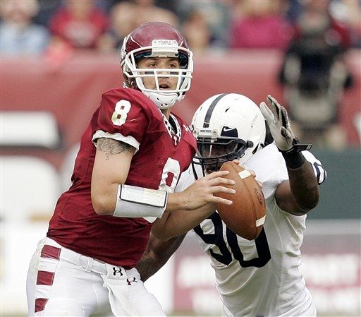 Temple Turnovers Opens The Door For Nittany Lions