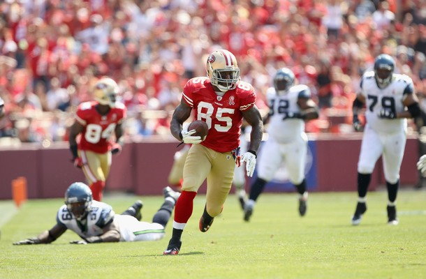 Eagles Must Matchup Asomugha On Vernon Davis
