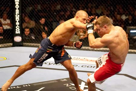 In UFC 137 – St. Pierre Out With Knee Injury