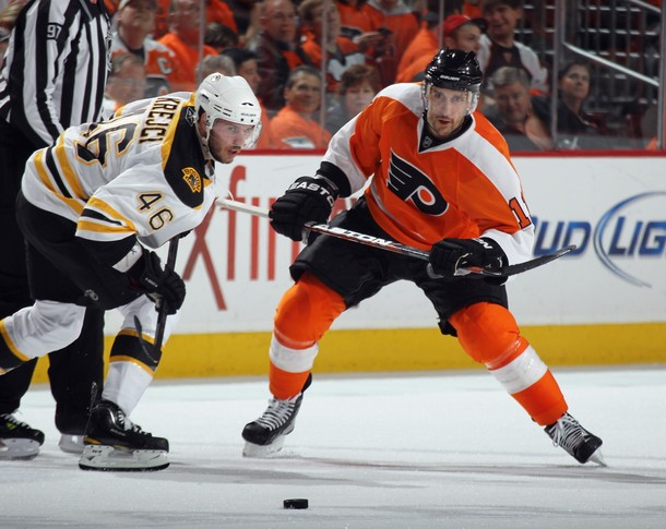 Return to Sender: Blair Betts Back With Flyers