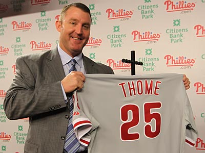 Welcome Back Jim Thome, Now Let's Get That Ring Back