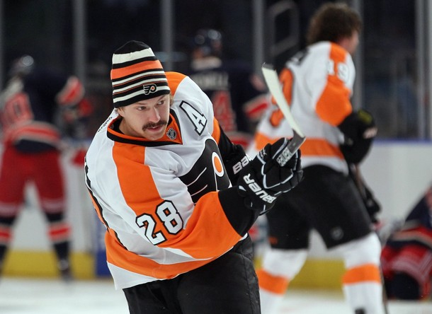 Flyers Can't Help But Miss Pronger And Giroux