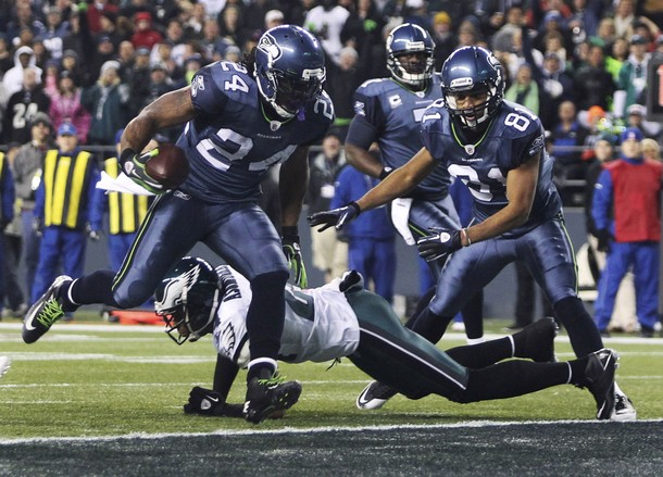 Eagles Run Defense Comes Up Missing, As They're Pummelled By Marshawn Lynch