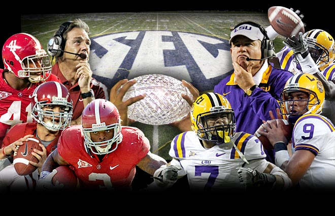LSU Vs. Alabama For BCS Championship In Less Than Nine Hours