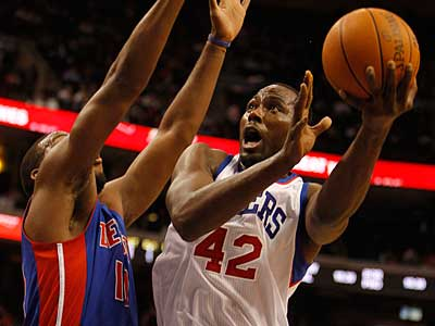 Sixers To Face Lakers Tonight Without Elton Brand