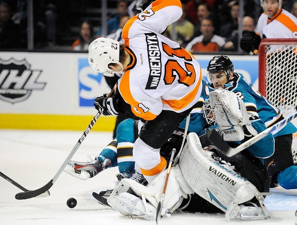 Penalty Missed, As Flyers Get Shutout In San Jose, 1-0