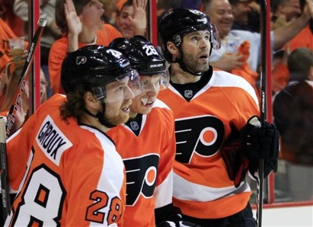 Leadership by Committee and How Prongers Injury Shaped the 2012 Flyers