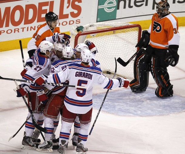 Rangers Sweep Season Series Against Flyers