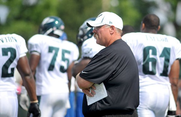 Andy Reid's Agent Shows Up At Training Camp, But For What