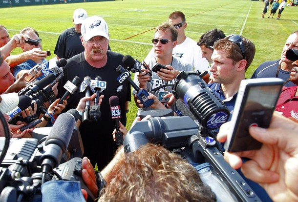 Another Tough Day For Andy Reid And His Agent