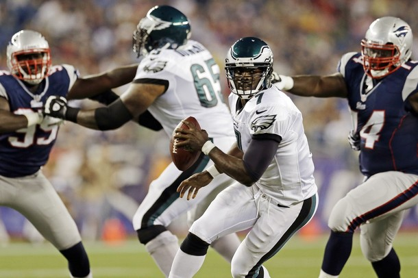 Eagles Offensive Line Must Give Vick Better Protection