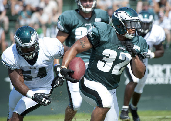Eagles Going Heavy With Running Backs And Defensive Ends