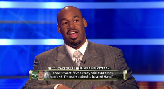 McNabb Headed To TV, Kafka Works Out For Pats, Hanson A Raider