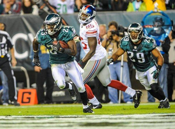 Eagles Matched Up DRC On Cruz And Asomugha On Barden
