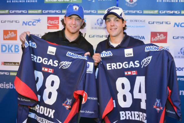 Briere, Giroux Formally Introduced to Eisbären Berlin of DEL