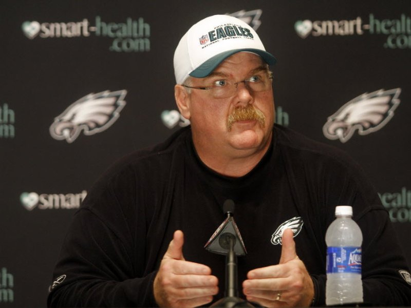 Transcript Of Andy Reid's Monday News Conference