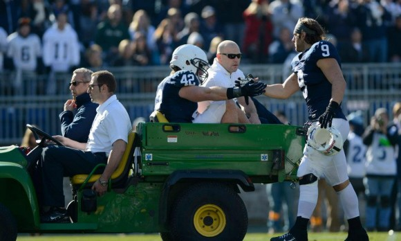 Penn State Dominates Indiana 45-22, But Lose Mauti To Injury
