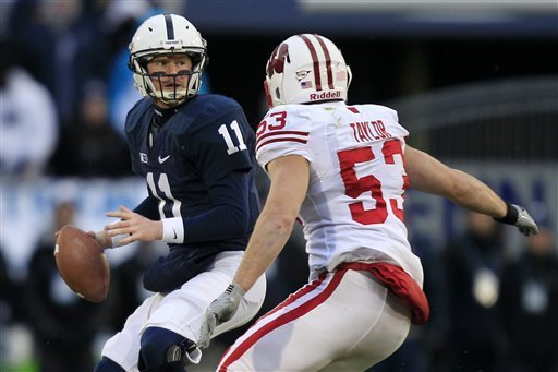 Penn State Finishes Strong With Win Over Wisconsin, 24-21