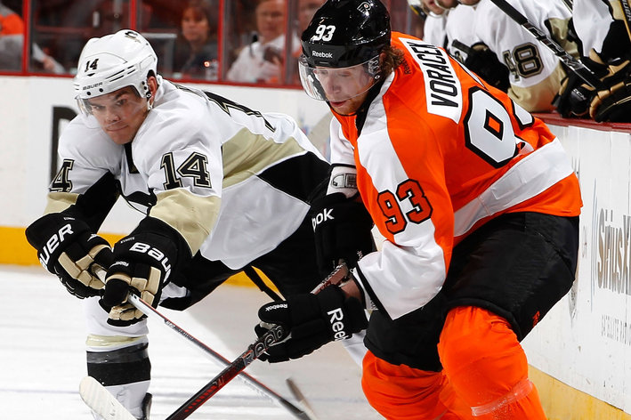 Flyers Drop Home Opener 3-1 to Rival Pens