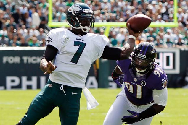 Jaworski Ranks Vick 25th Among NFL Quarterbacks