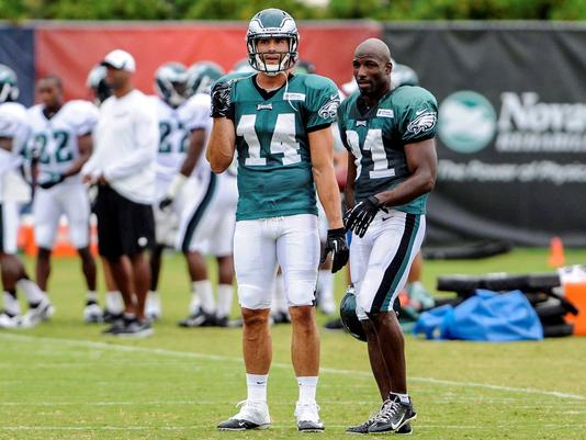 Riley Cooper Returns, As Eagles Battle Patriots In 1st Workout