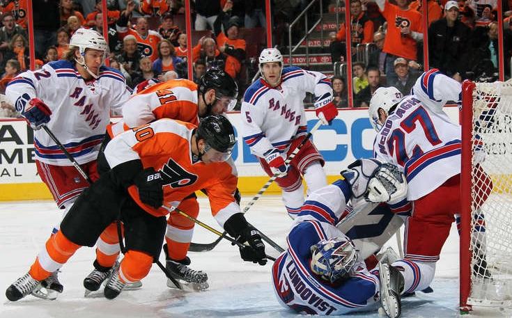 Flyers Bounce Back From Sharks Loss, Mug Rangers 4-2