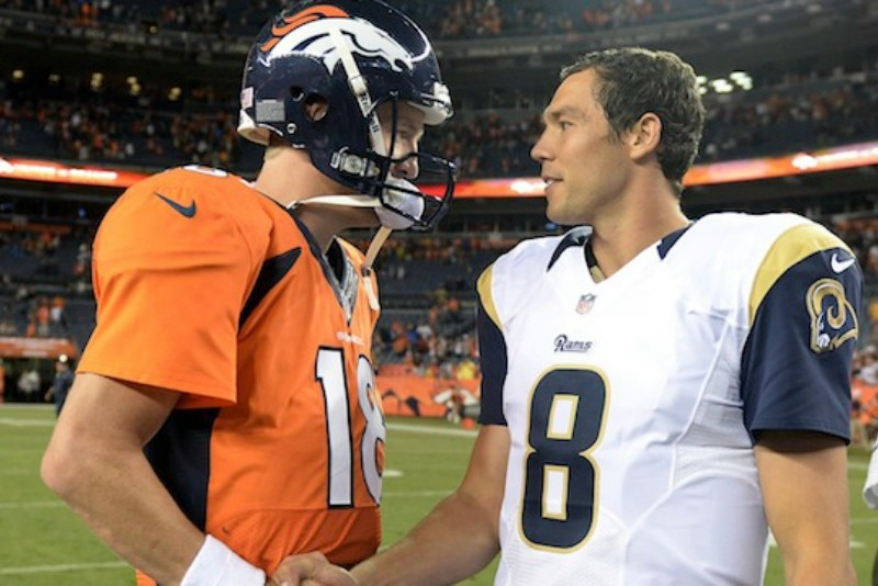 In 2010, Eagles Rated Sam Bradford On Par With Peyton Manning