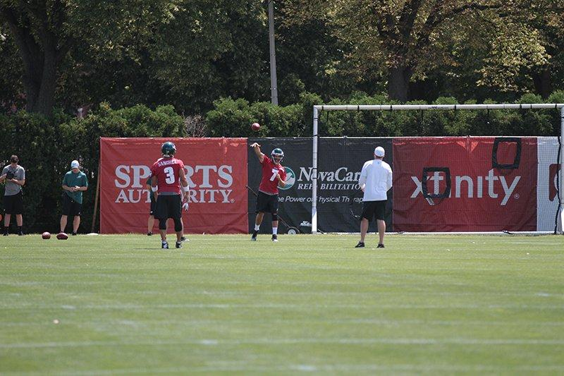 It Was An Outstanding Day Of Practice For Sam Bradford
