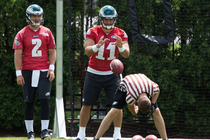 Chip Kelly Says He Hasn't Made Up HIs Mind Yet About Barkley and Tebow
