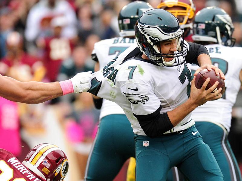 "Eagles ""O"" Line Problems Intensify With Injuries"