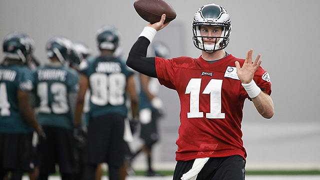 Should It Be A Competition Or Let Carson Wentz Sit?