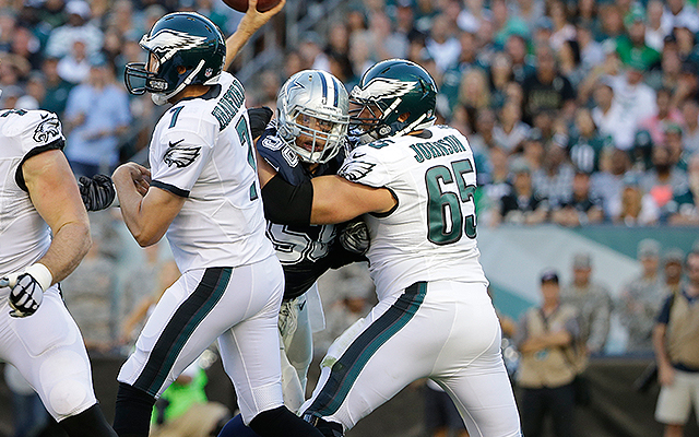 Eagles Tackle Lane Johnson Feels Competition Will Make Sam Bradford Better