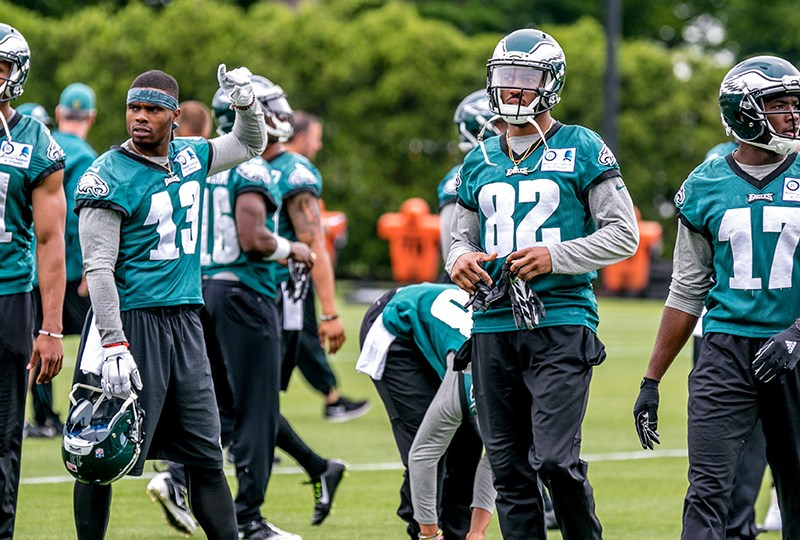 Agholor, Randle, Givens & Huff Fighting For Jobs Tonight