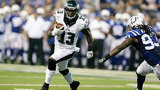 Josh Huff Takes Advantage Of His Opportunities