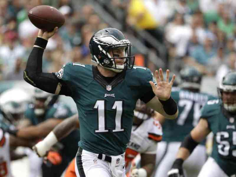 Carson Wentz On That First Drive (Video)