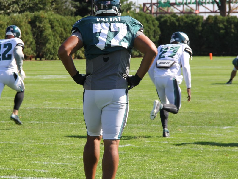Halapoulivaati Vaitai In Line To Take Over For Lane Johnson