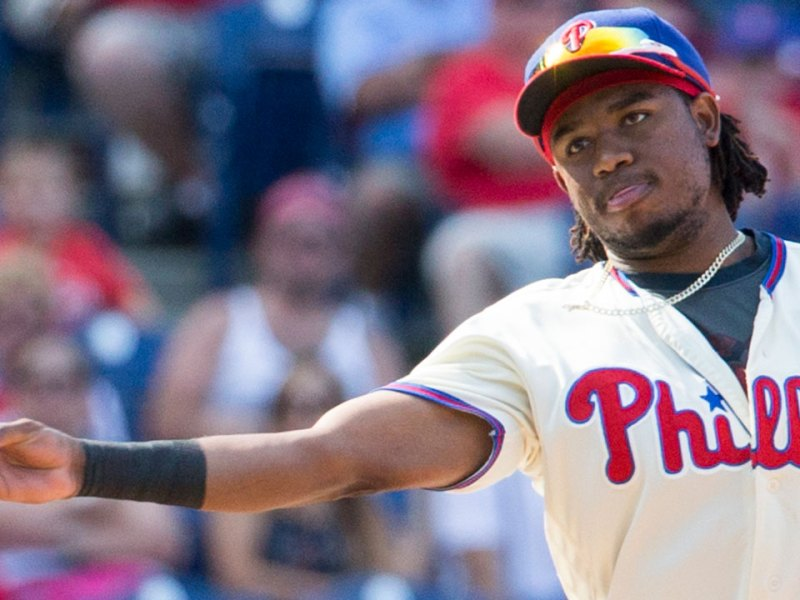 Notes From The Phillies' 7-5 Win Over Los Angeles