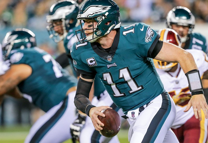 Video: Carson Wentz Named The NFC Offensive Player Of The Week