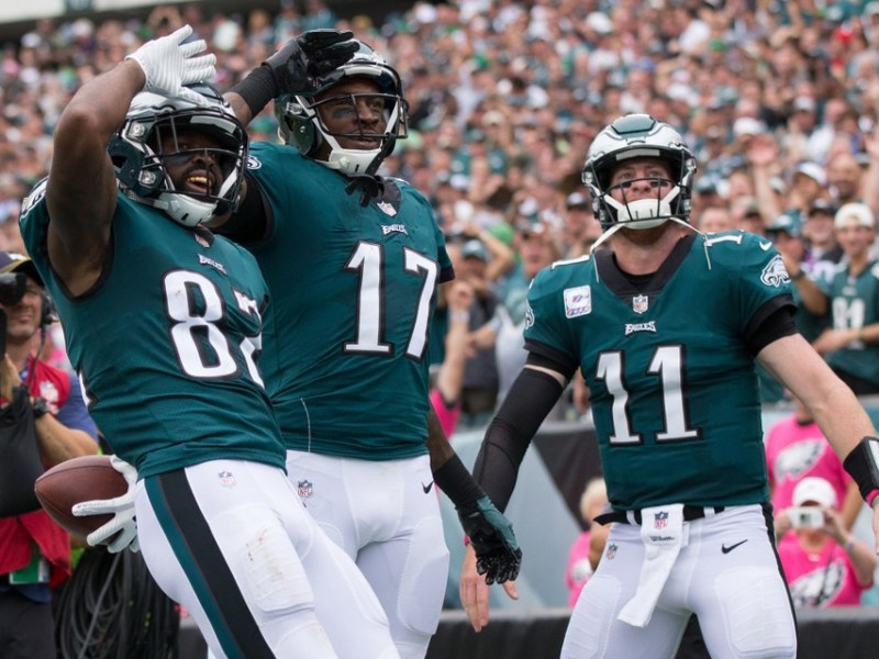 Eagles Podcast: Is Carson Wentz Already A Top-10 Quarterback? Eagles-Panthers Projections