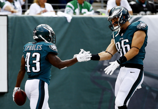 Eagles Will Feature Their Tight Ends And Running Backs