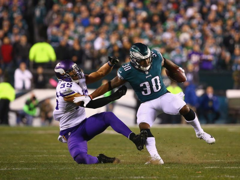 Corey Clement and Derek Barnett Practiced Today & Are Likely To Play